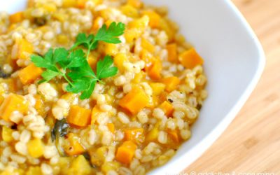 Recipe: Butternut squash and Barley Risotto