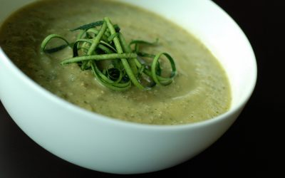 Recipe: Zucchini and Feta Soup